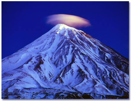 Damavand is Iran's biggest mountains.